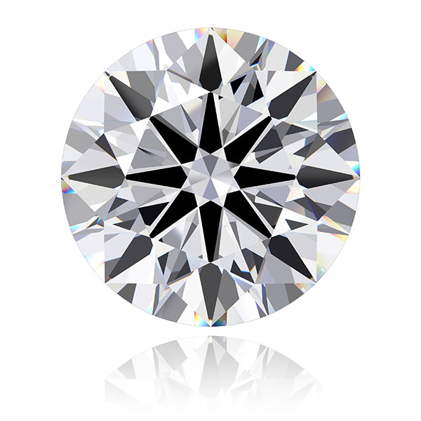 0.31 Carat D SI1 Good Diamond